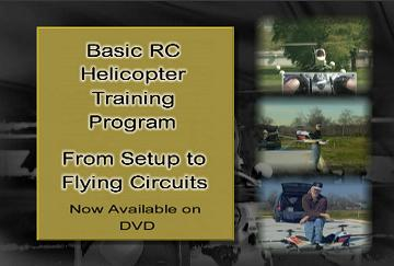 Basic RC Helicopter Training Program on DVD