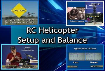 RC Helicopter Setup & Balance on DVD